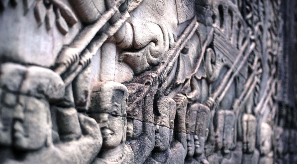 Khmer Traditional Stone Carvings, Cambodia