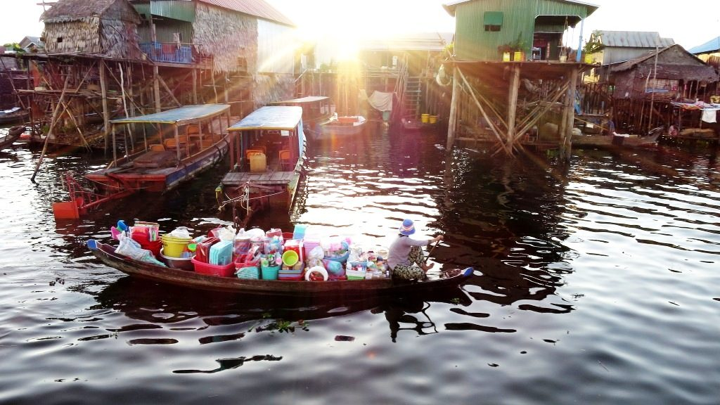 Floating Village Shop, Cambodia