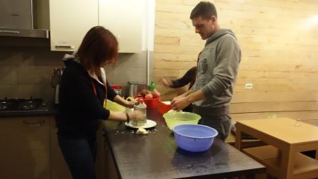 Making Georgian Food