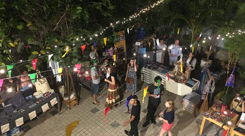 Social Hub Market event