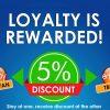Loyalty is Rewarded!